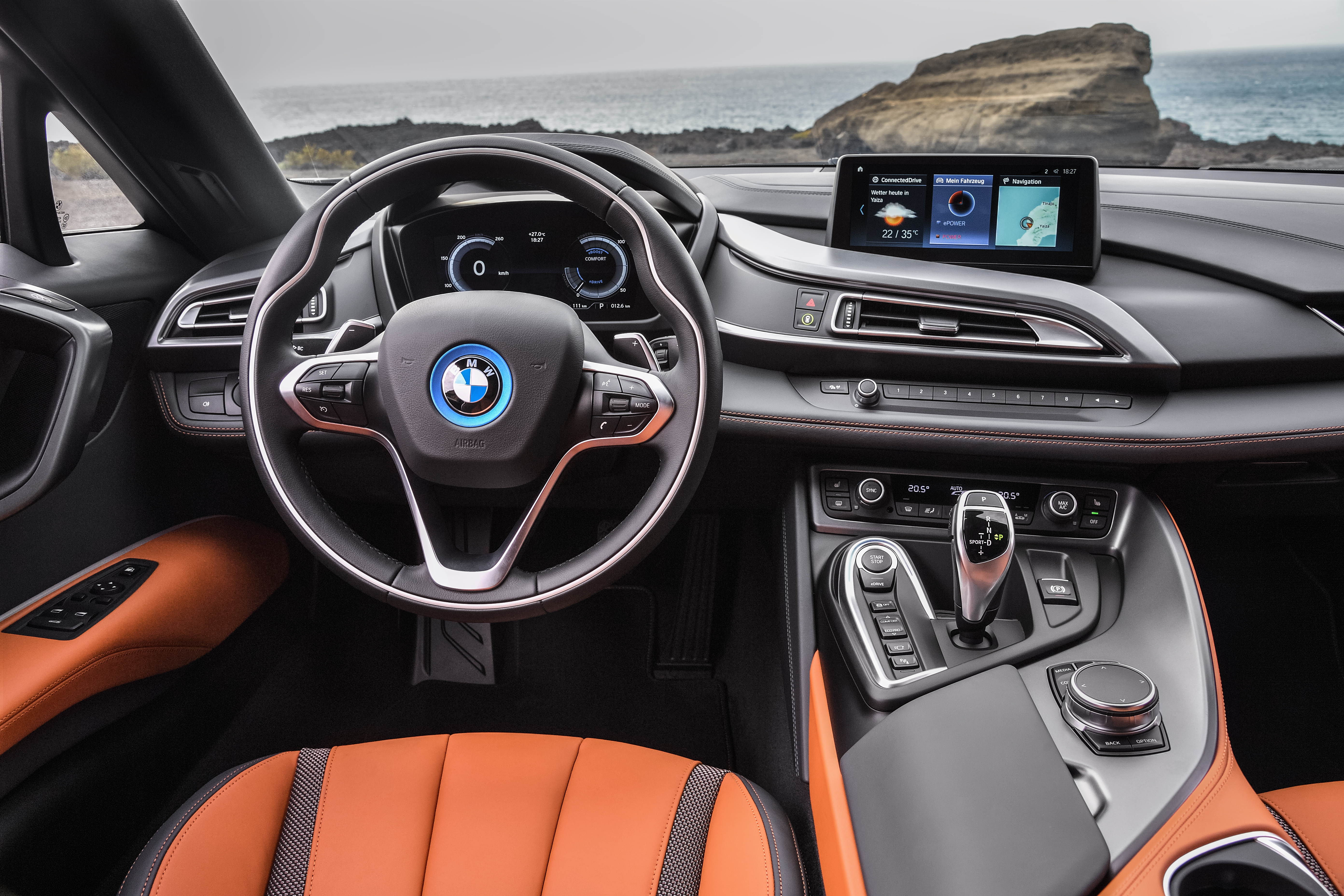 Bmw Unveils New I8 Roadster And Coupe With More Electric Range