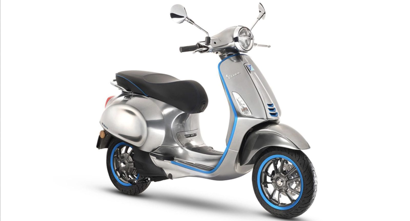 Vespa releases specs of its first electric scooter: 4 kW