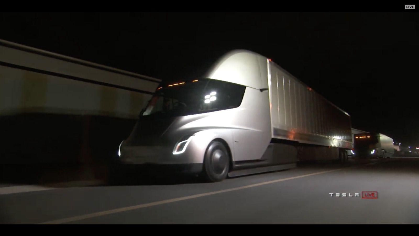 Tesla Semi Electrek