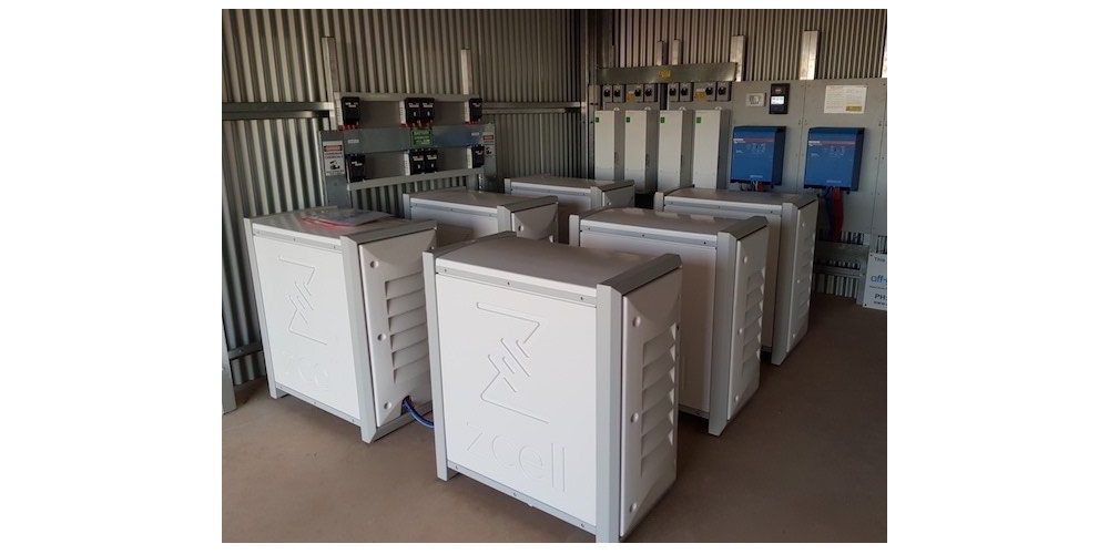 'World's smallest' zinc bromine residential flow batteries ...