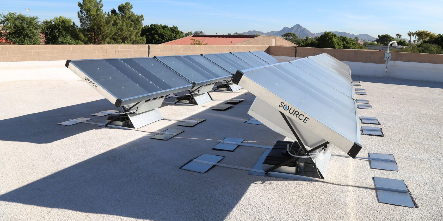 Solar power making perfect water from the air – for your house
