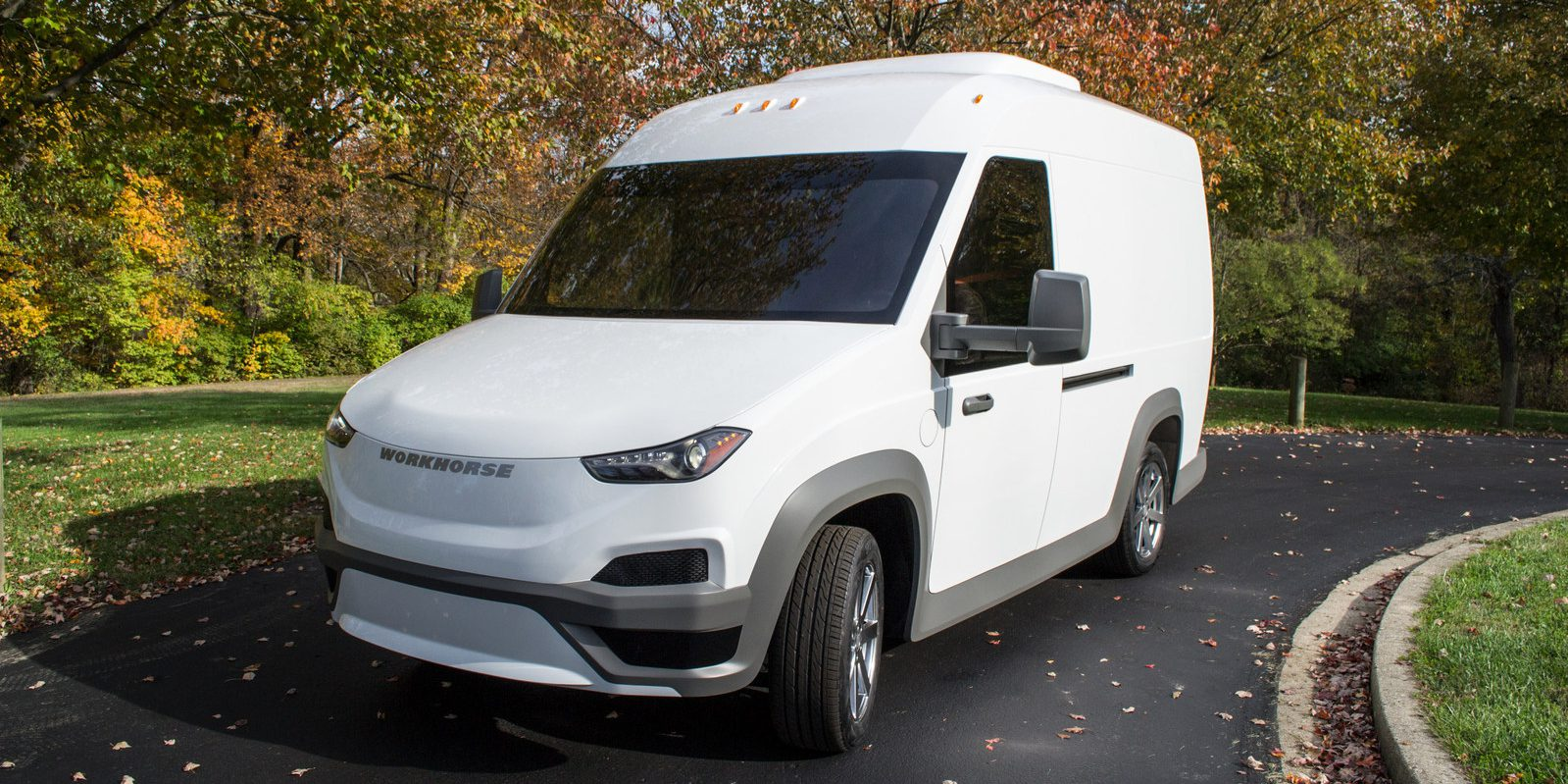 Workhorse starts production of its all-electric delivery van