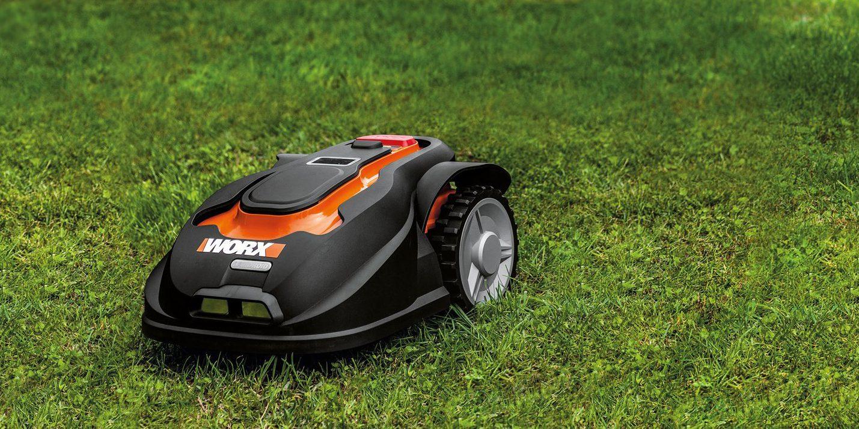 Green Deals Worx Landroid M Cordless Robotic Lawn Mower