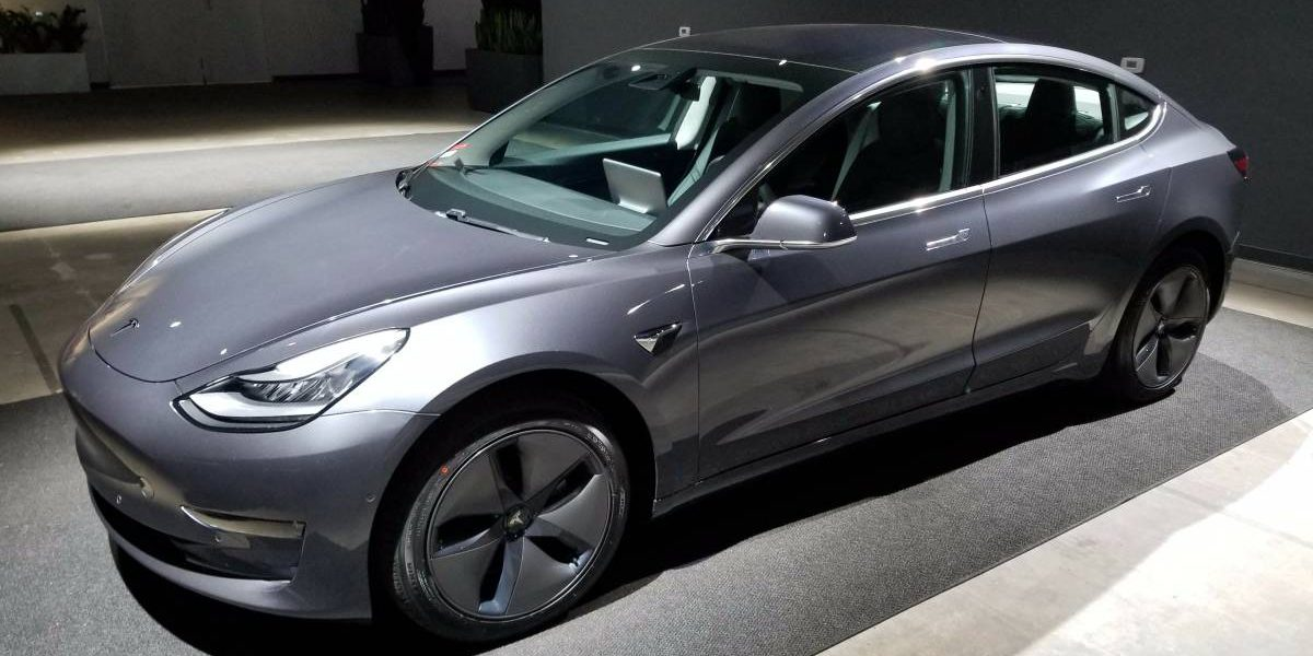 A Tesla Model 3 is listed for sale at $120,000? - Electrek