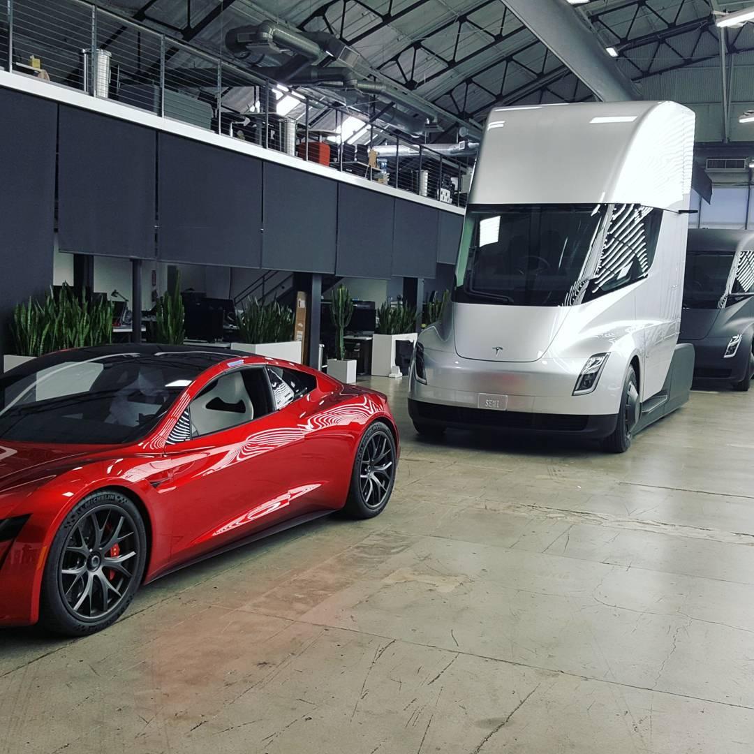 Elon Musk updates Tesla pickup and semi truck timelines ...