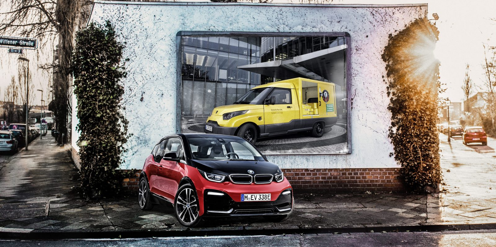 BMW is supplying i3 battery modules for DHL's electric