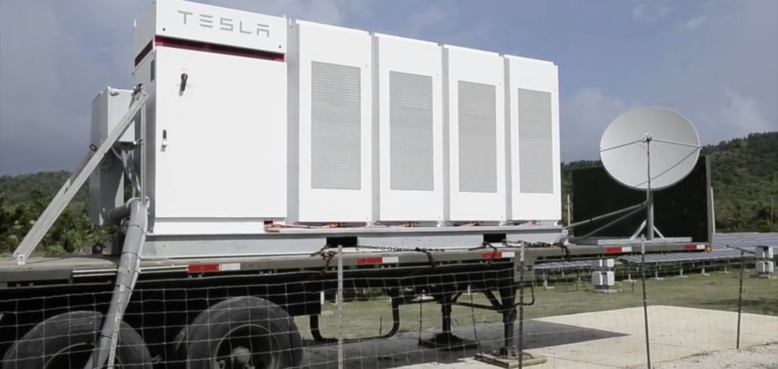 Tesla Deploys 6 Battery Projects In Order To Power Two Islands The Simple Electric Motor Powered By Batteries Connected Series Puerto Rico More Come