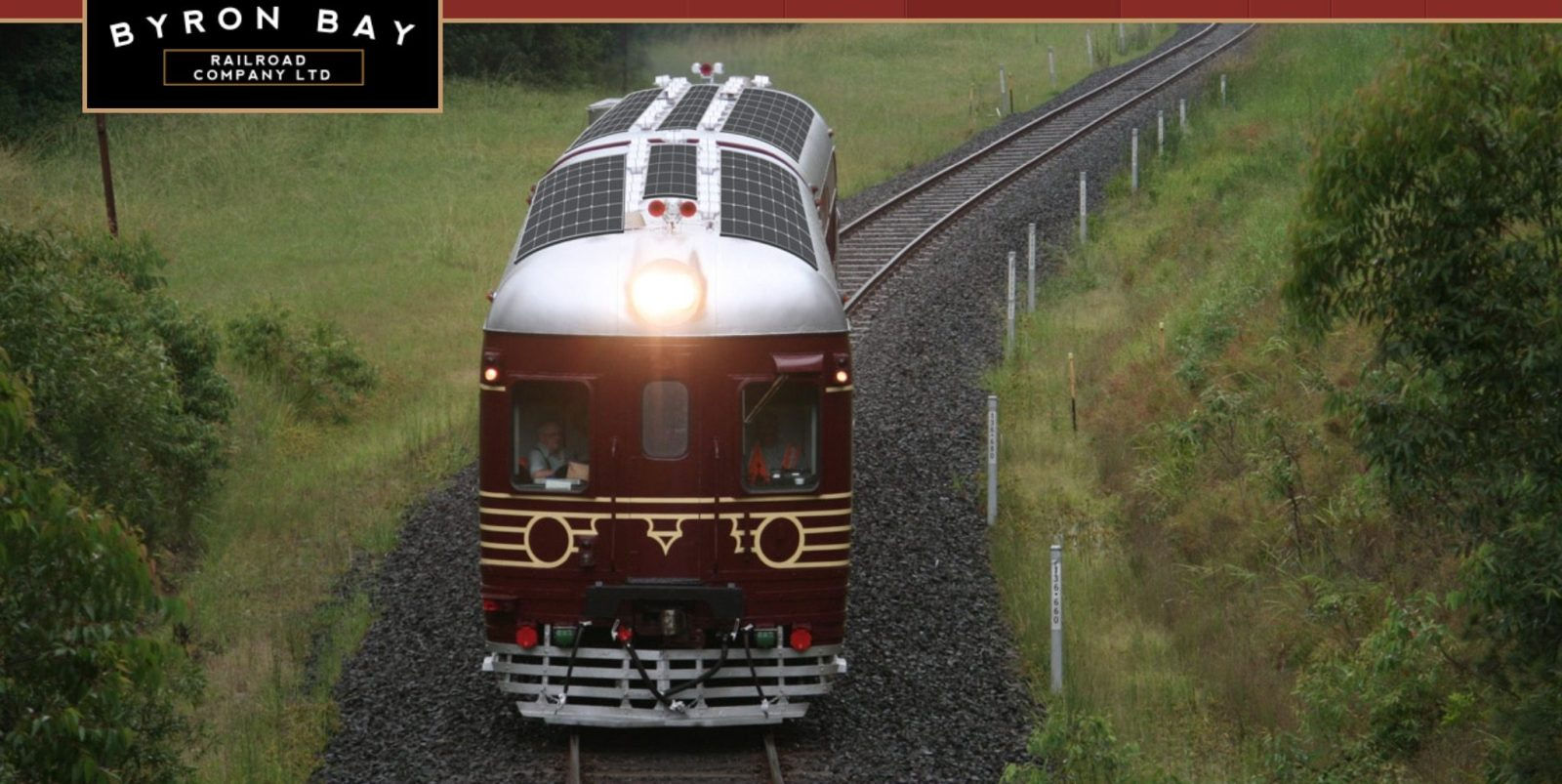 'World's First' Solar-Powered train to begin operation in Australia