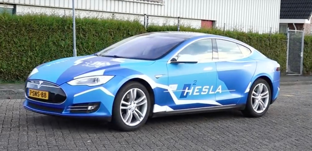Gas company actually ruined a Tesla Model S with a ...