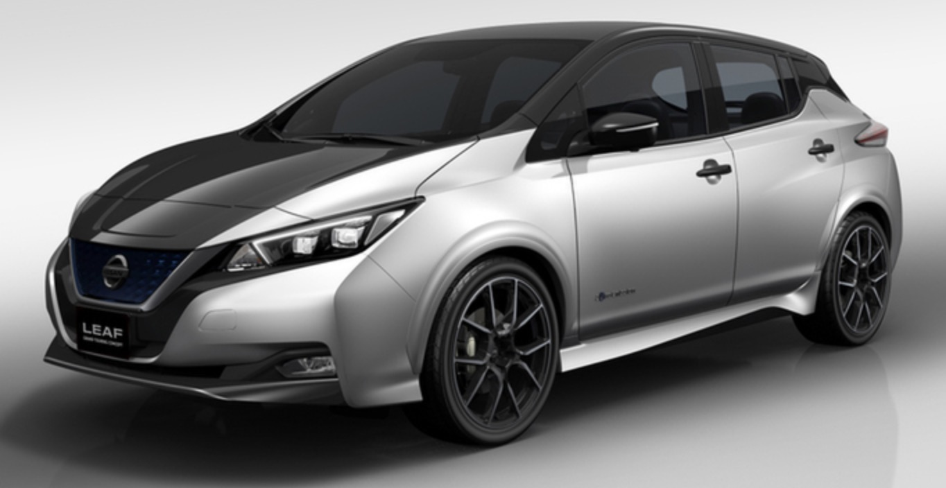 Nissan unveils first image of new Leaf GT electric car concept ...