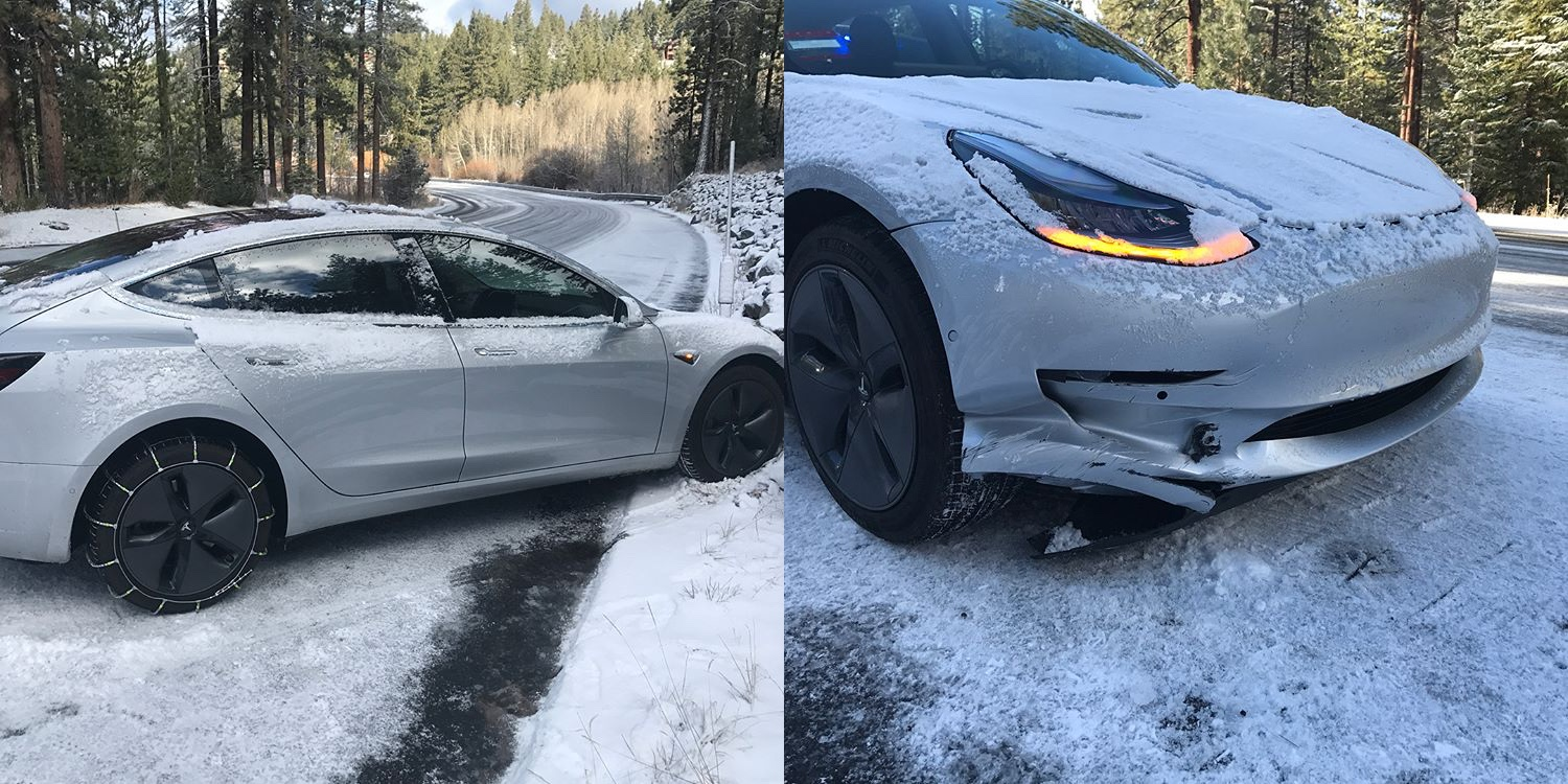 Here Are Some Of The First Tesla Model 3 Crashes