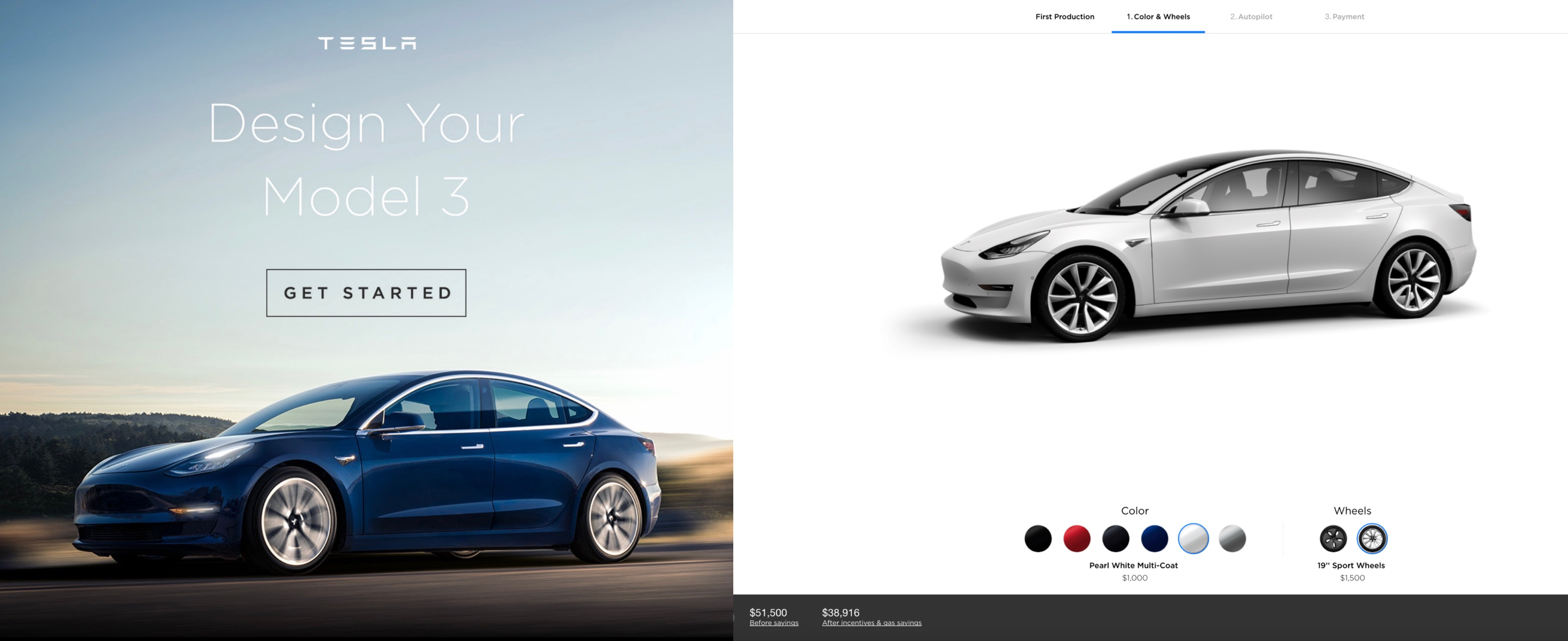 tesla is opening model 3 online configurator to everyone electrek rh electrek co