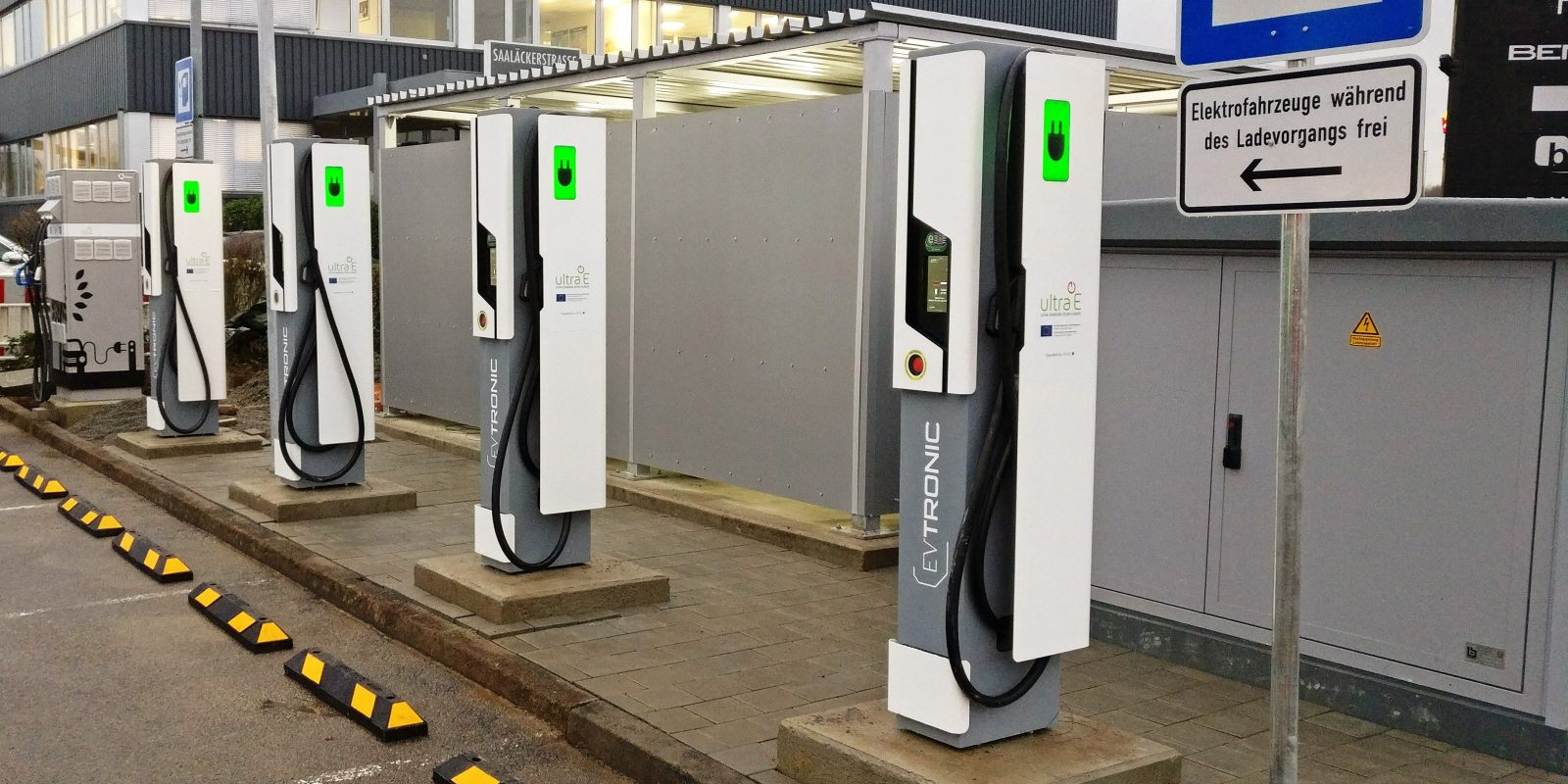 First Ultra Fast Electric Car Charging Station Comes Online In Europe