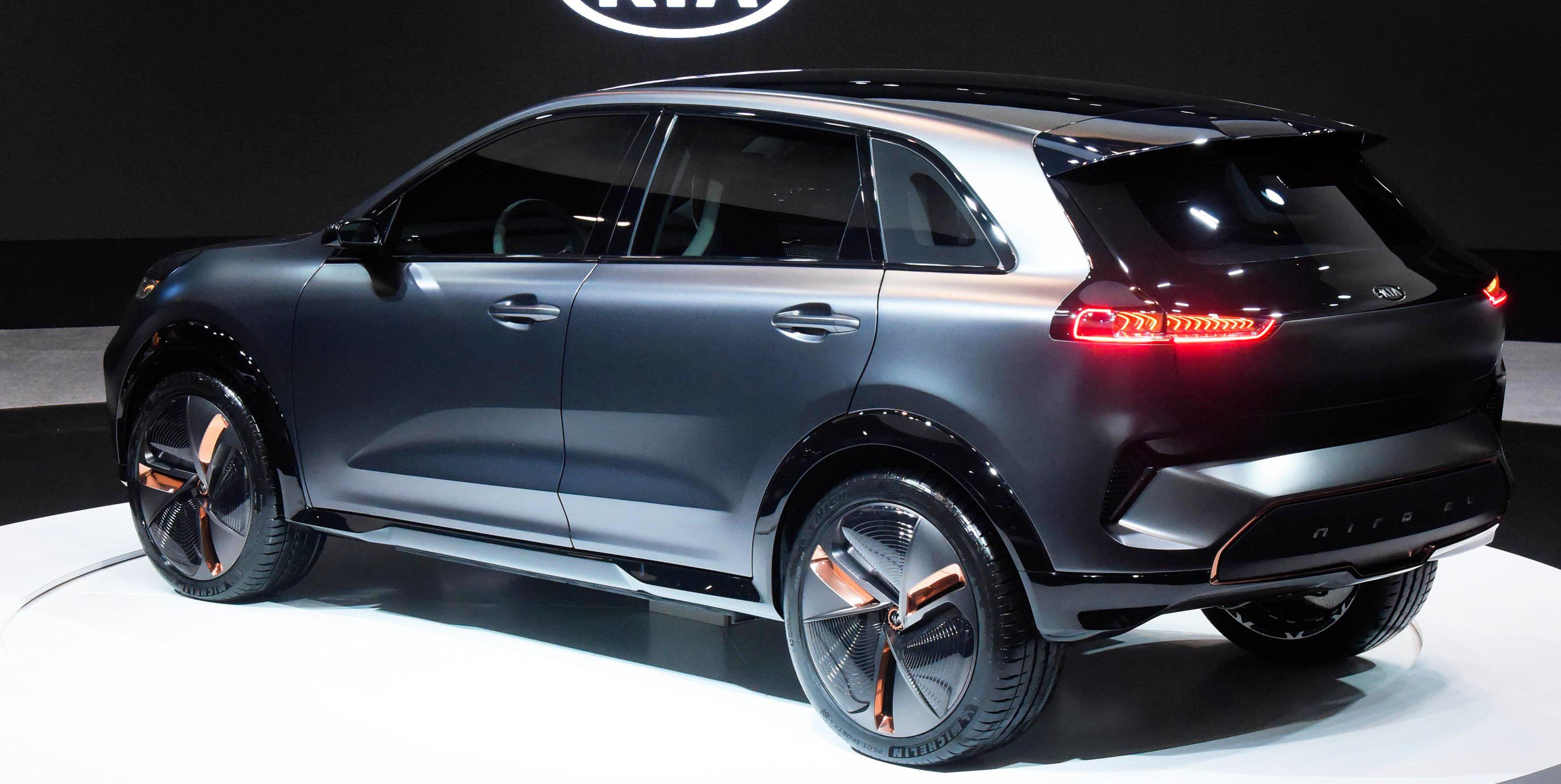 Kia Electric Car >> Kia unveils new all-electric compact SUV concept ahead of Niro EV launch - Electrek