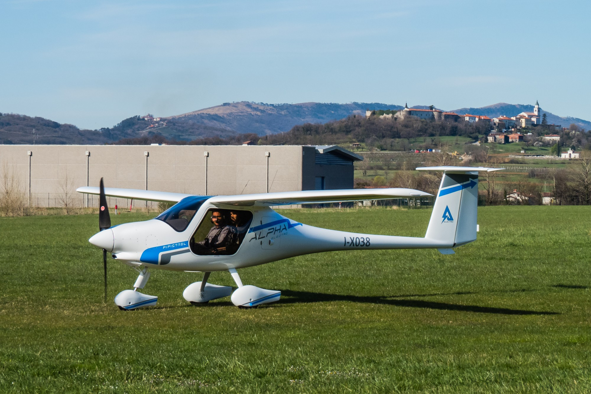 A new battery-electric airplane goes into production as