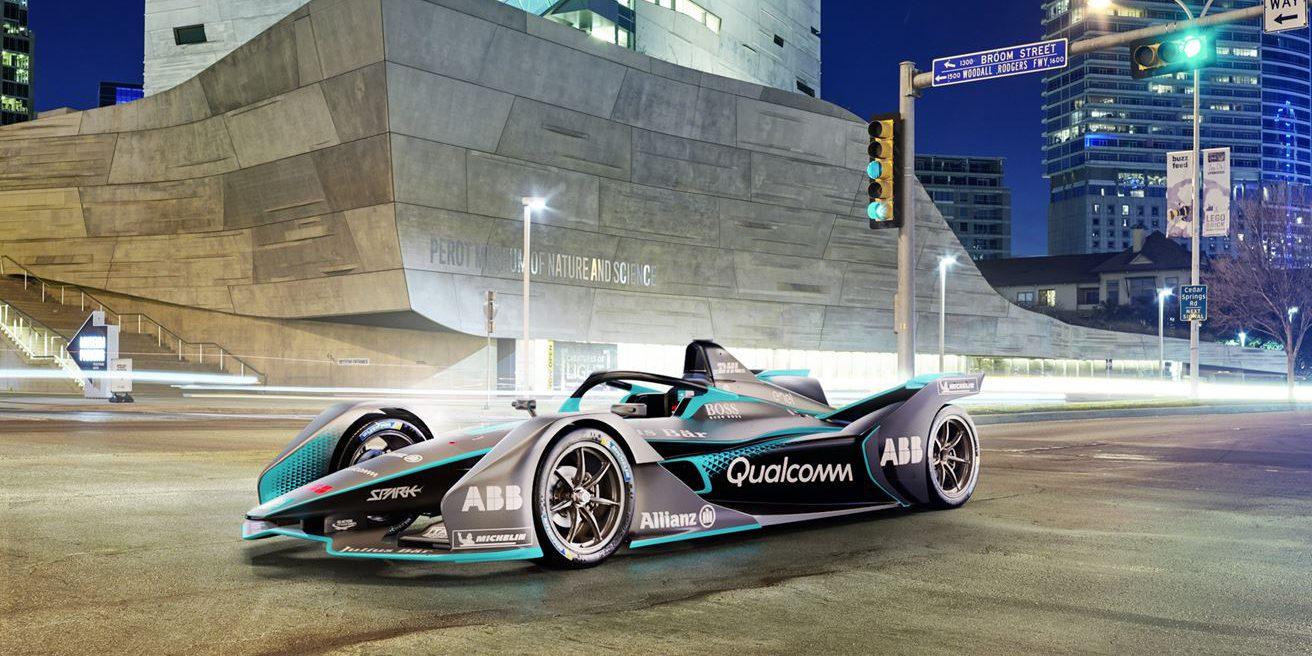 Formula E unveils its next-gen all-electric race car ...