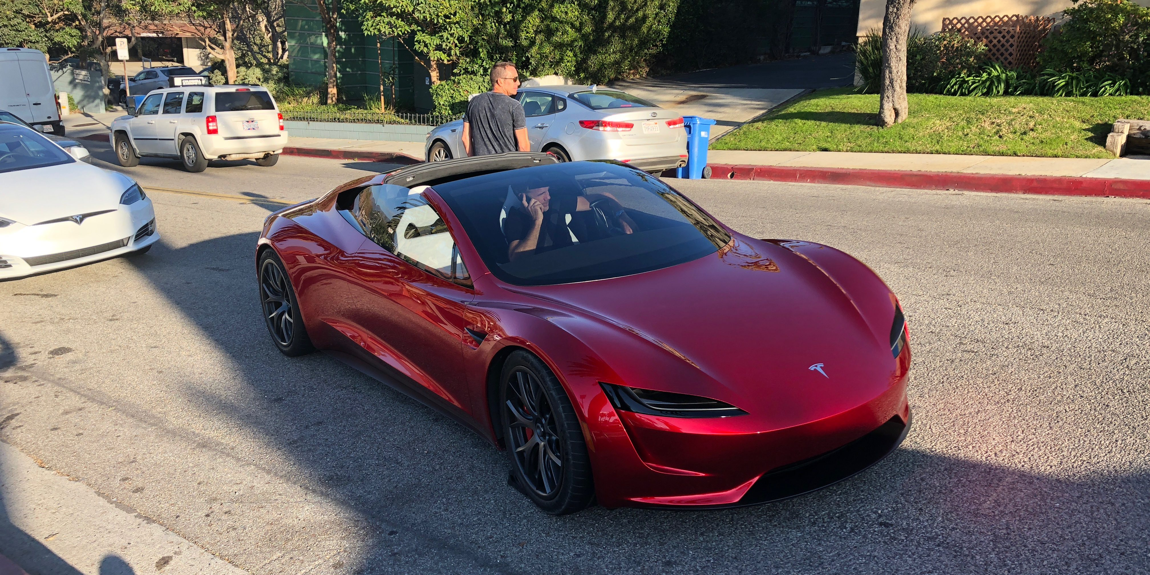Ferrari Is Working On An Electric Supercar To Compete With The Next Gen Tesla Roadster