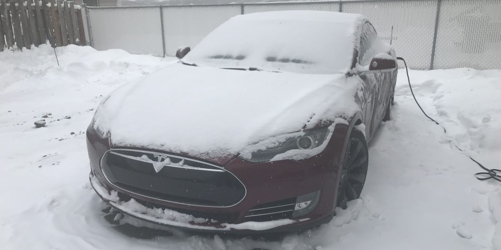 Electric car range is affected by extreme cold, but at least