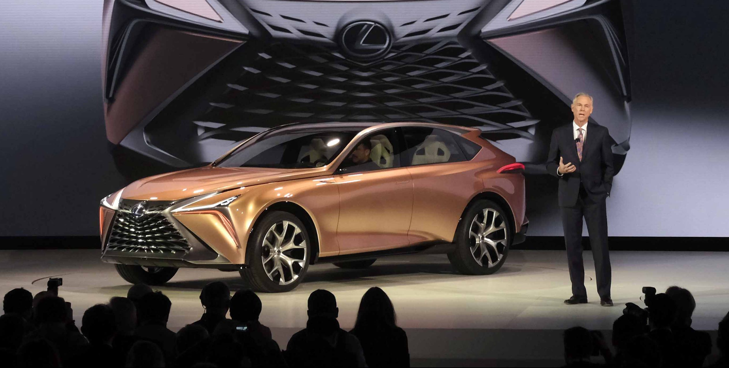 Lexus Unveils New Crossover Concept Supporting All