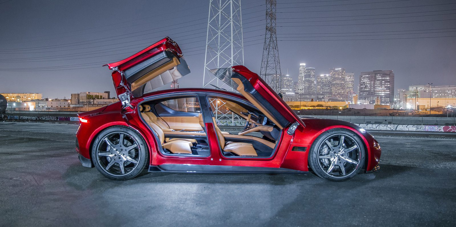 Fisker officially unveils its new EMotion all-electric vehicle with ...