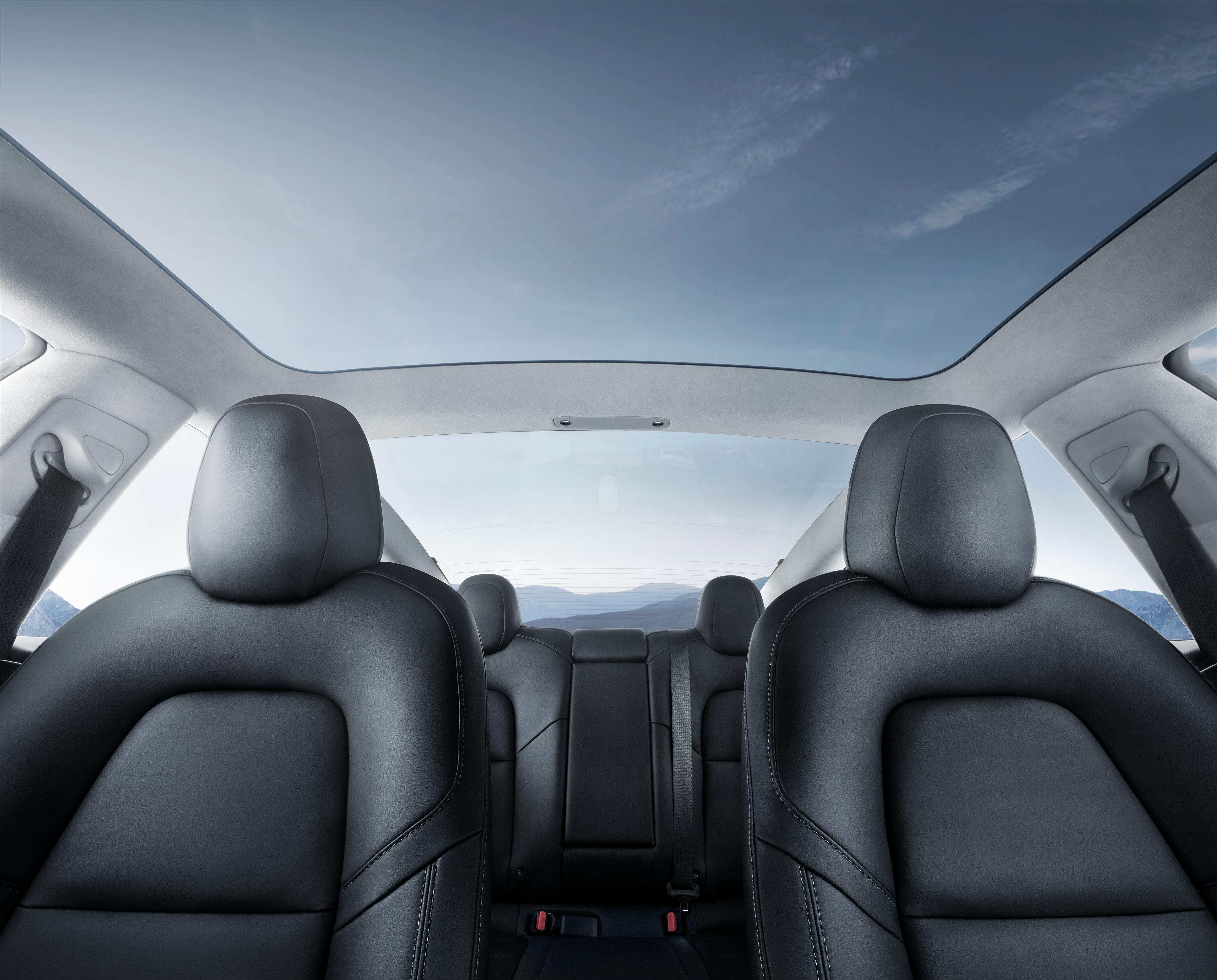 Tesla Updates Model 3 Interior With New Headliner Material Electrek