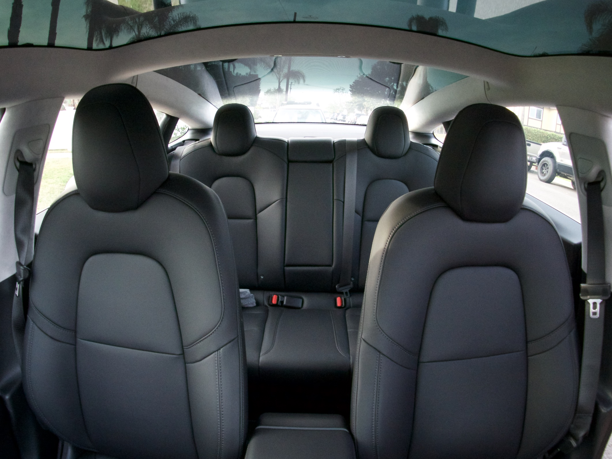 Tesla Model 3 seats