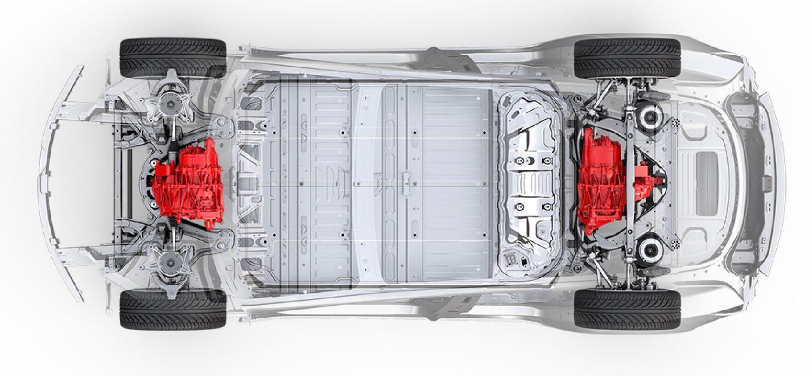 Tesla Model 3 Dual Motor Design Leaks In Latest Studio Update