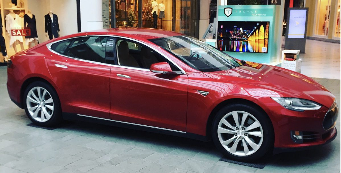 A fleet of Tesla vehicles will be available for rent during Super ...