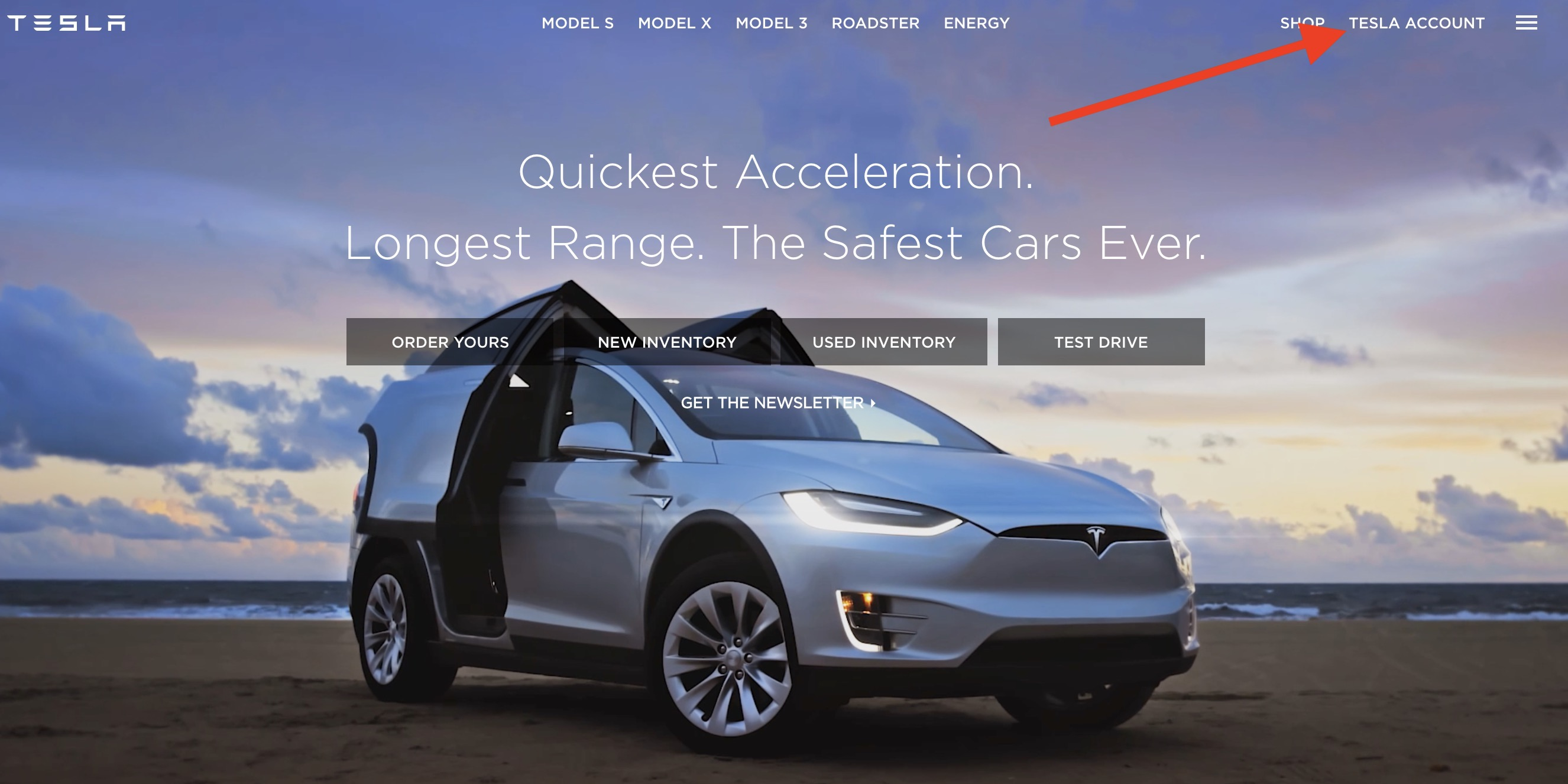 tesla model 3 now available beyond first day reservation holders check your account electrek. Black Bedroom Furniture Sets. Home Design Ideas