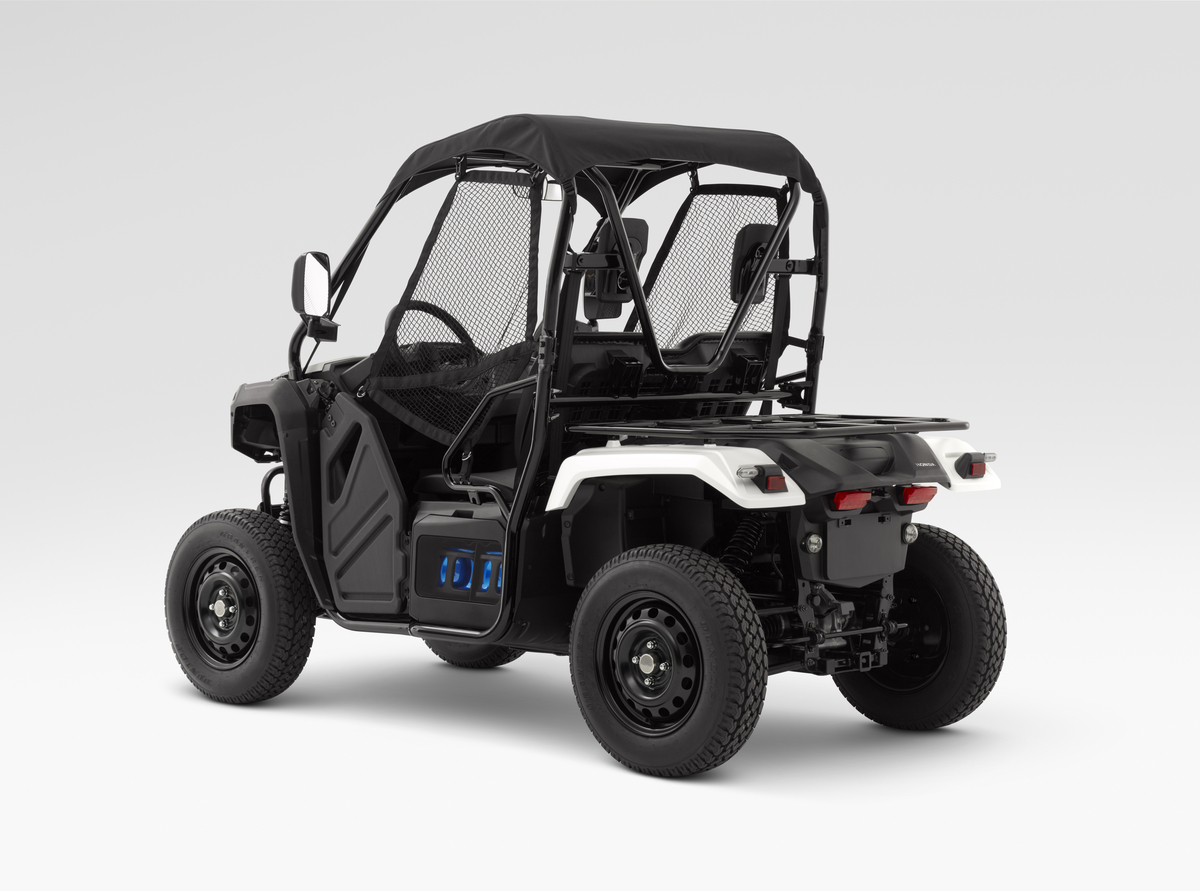 Honda Unveils A New Swappable Battery Pack Ecosystem Powering An Atv