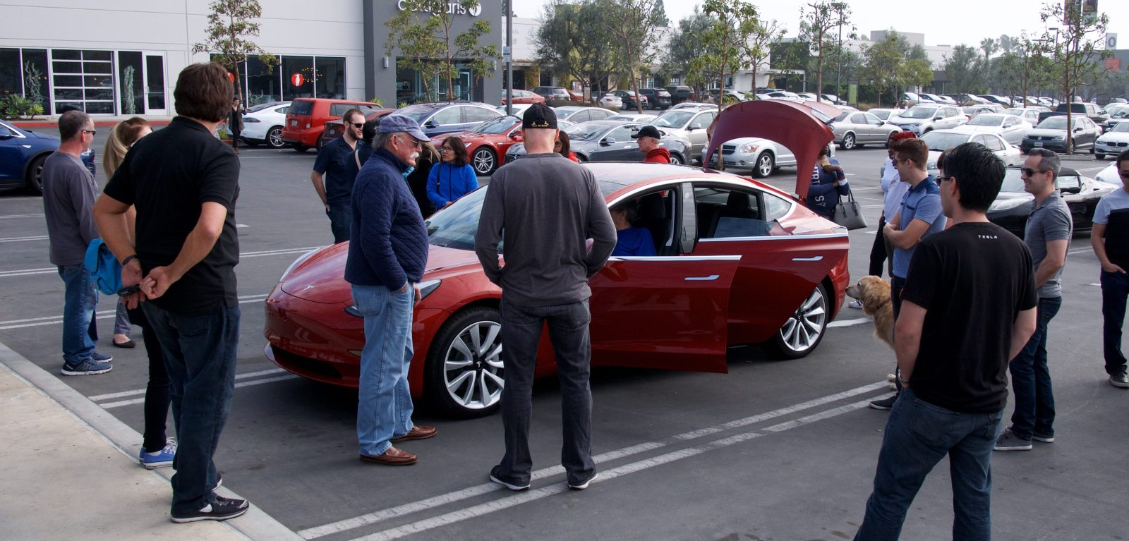 First Tesla Model 3 Display Cars Are Going To La And Palo Alto Friday