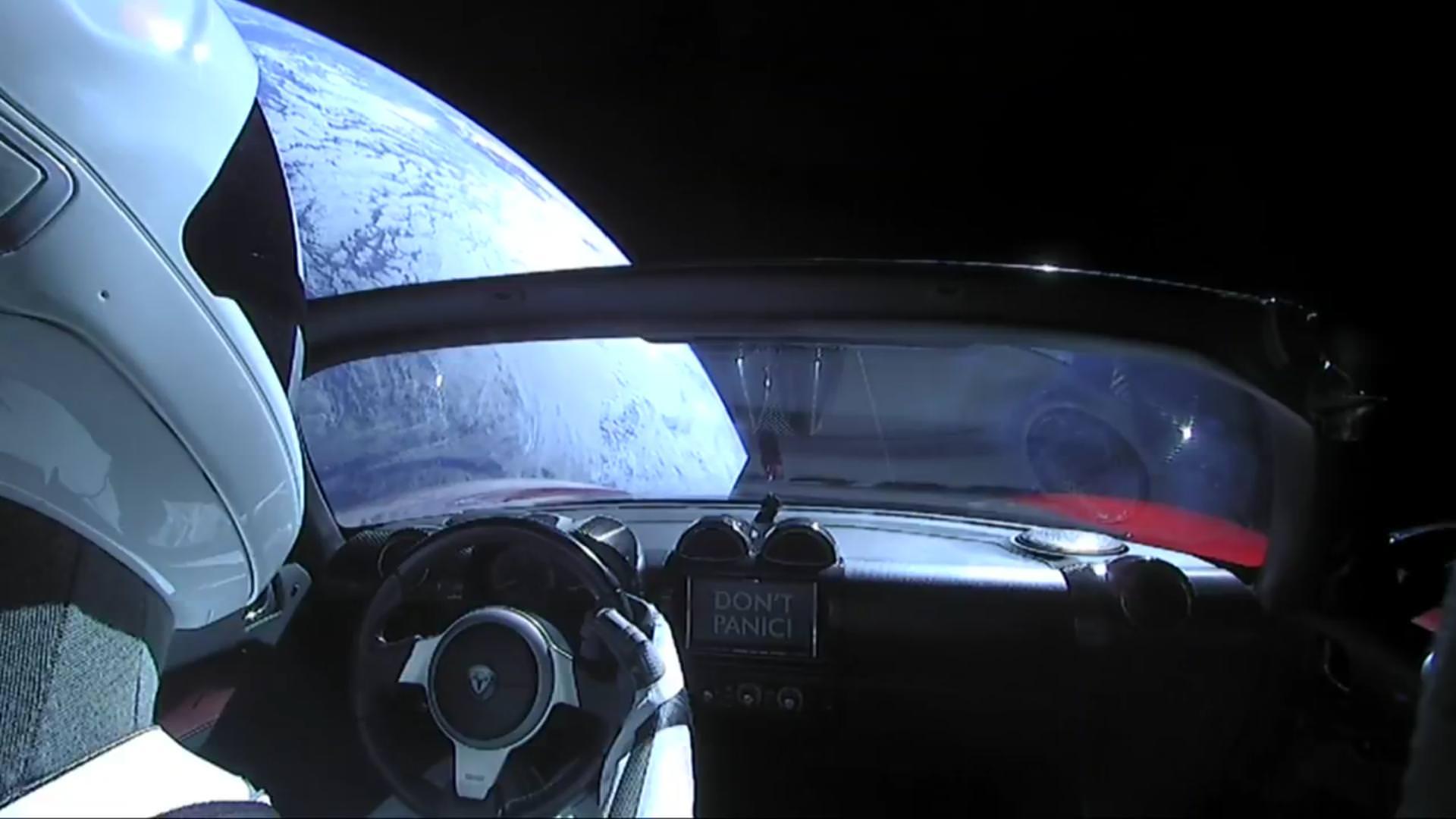Tesla Roadster with 'Starman' completes first orbit around