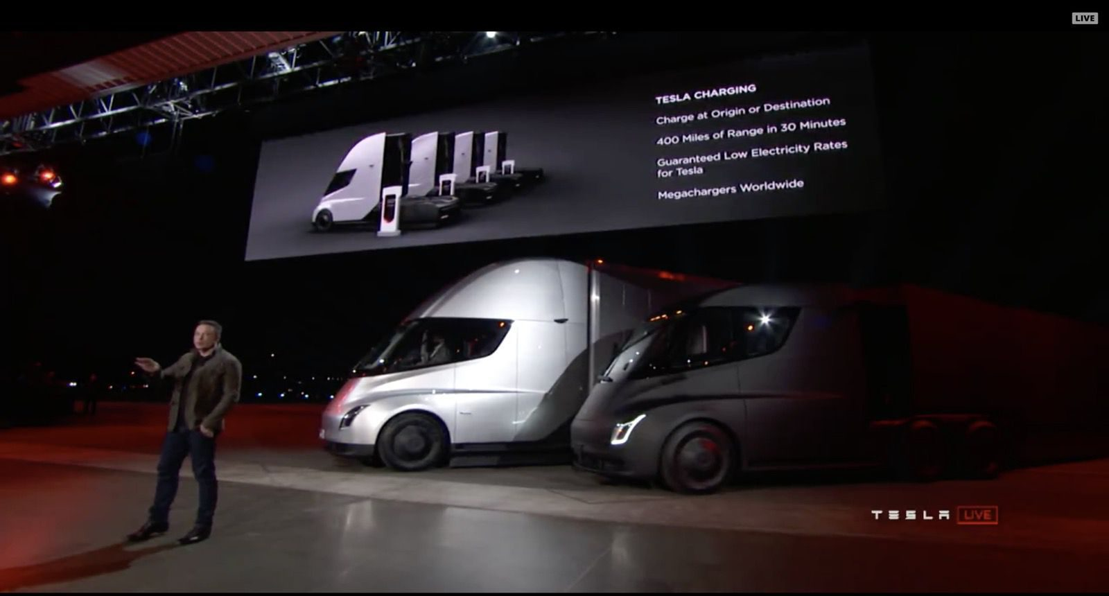 Tesla Is In Talks With Electric Truck Customers To Install Megacharger Stations Report Says Electrek
