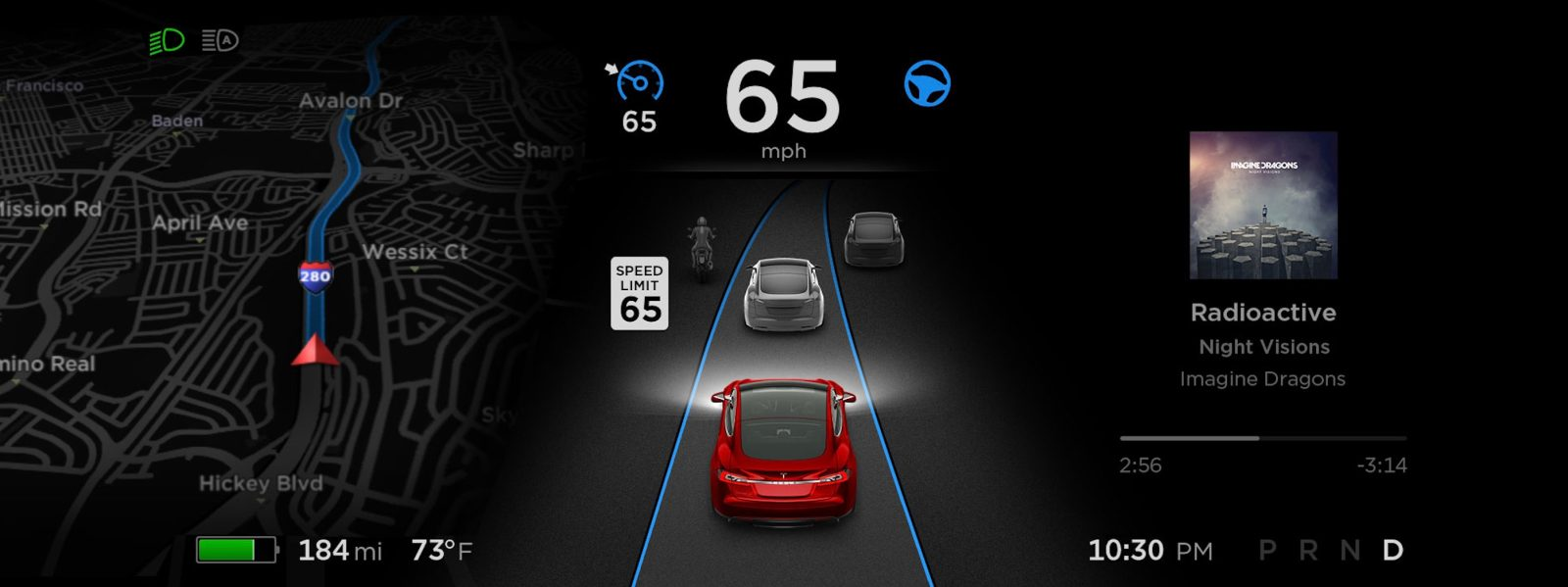 Tesla's version 9 software update is coming in August with