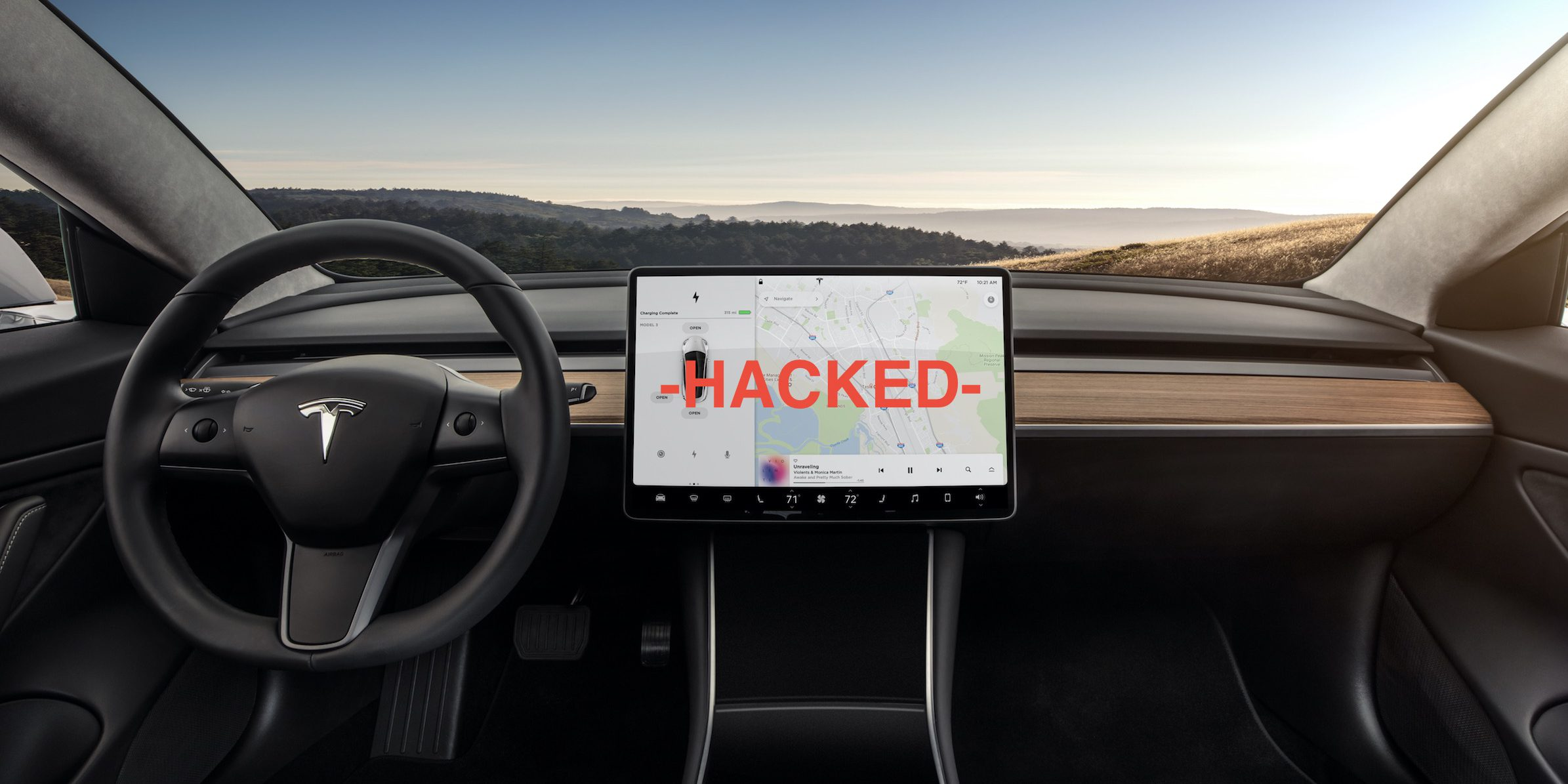 Tesla Model 3 gets hacked, reveals more details and great potential for dual motor/ performance versions