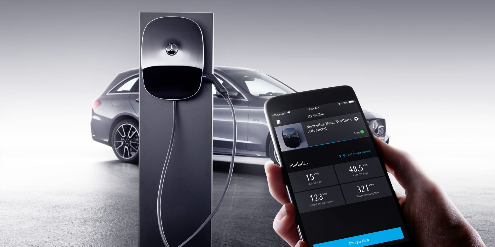 Mercedes-Benz launches new home charging station ahead of ...
