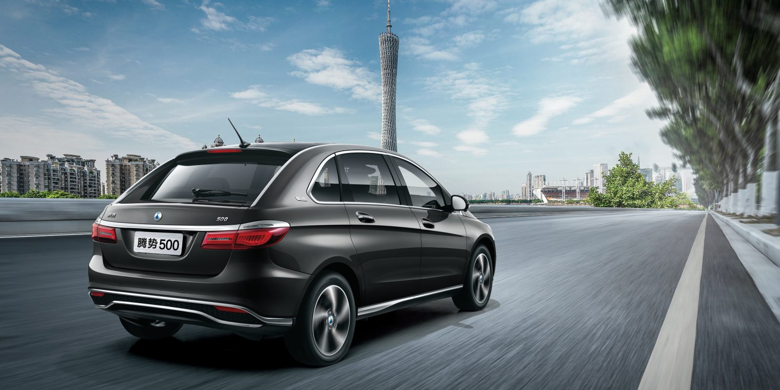 Daimler And Byd Unveil New Long Range Denza Electric Car For Chinese Market