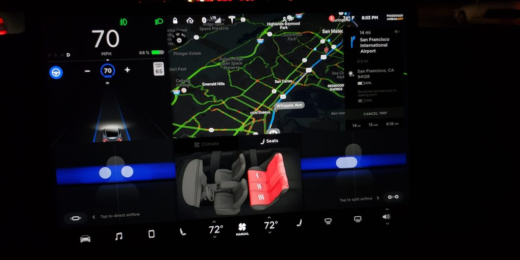 BMW Software Update >> Tesla Model 3 gets more useful Autopilot controls with ...