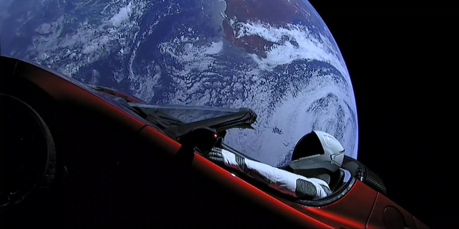 Tesla Roadster with 'Starman' completes first orbit around the sun