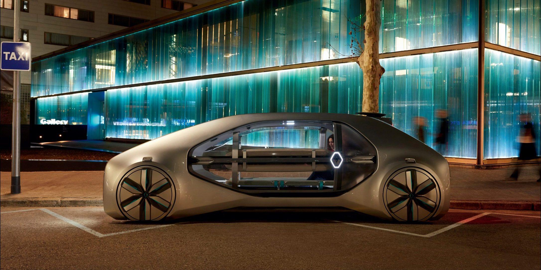 Renault Unveils Ez Go A Level 4 Autonomous Ridesharing Electric