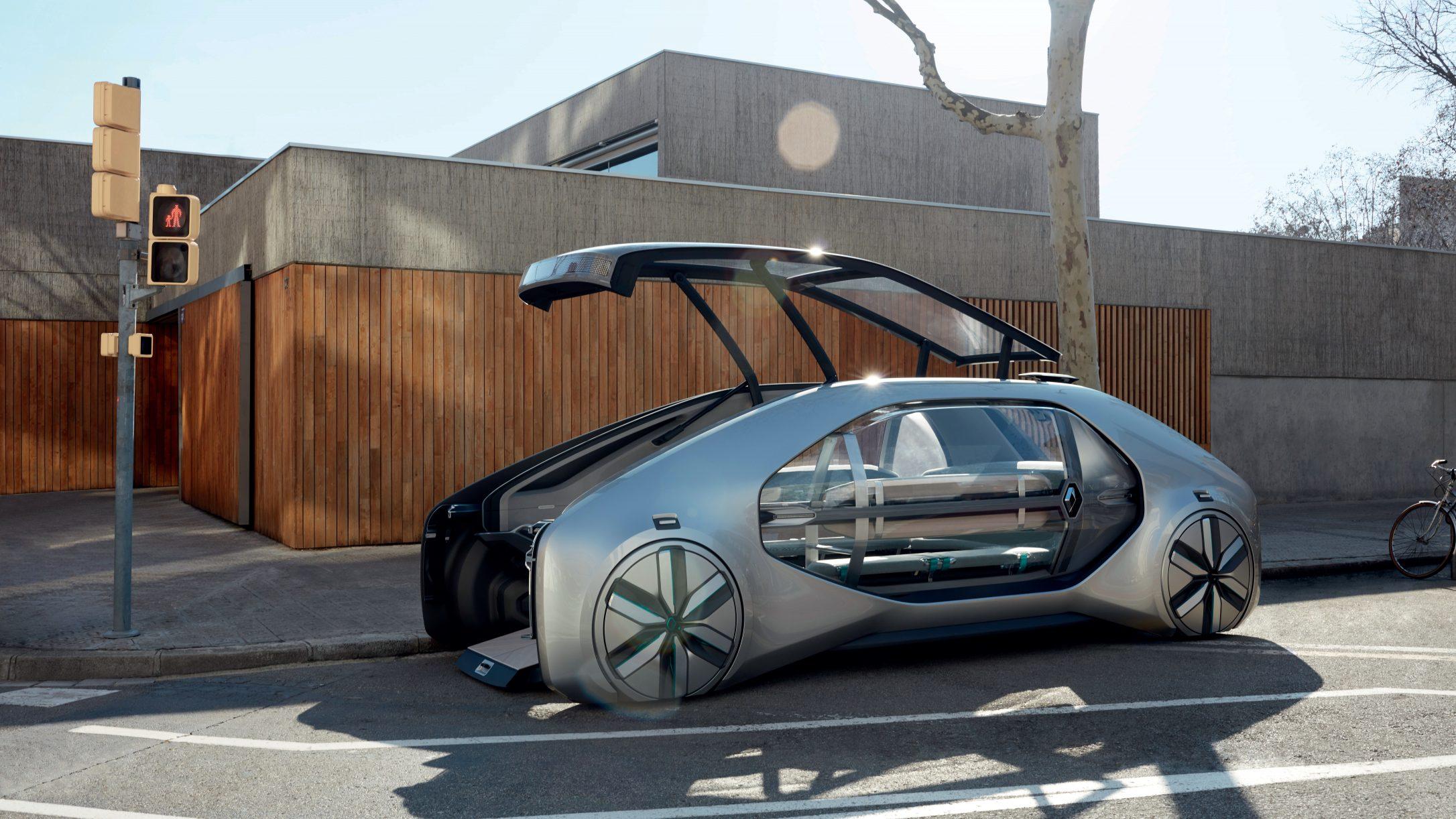 Renault unveils EZ-GO, a level 4 autonomous ridesharing