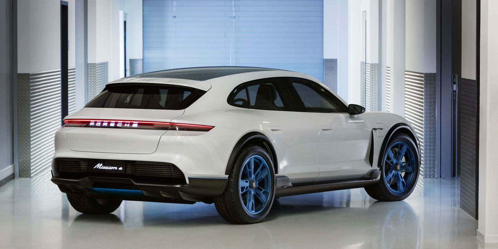 Porsche Unveils New All Electric Cuv Version Of The Mission E