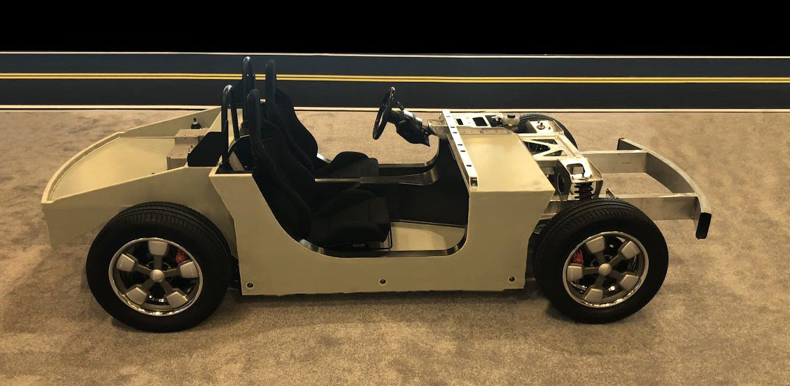 Electra Meccanica unveils chassis of its new all-electric roadster: 250 miles range and $50,000 starting price
