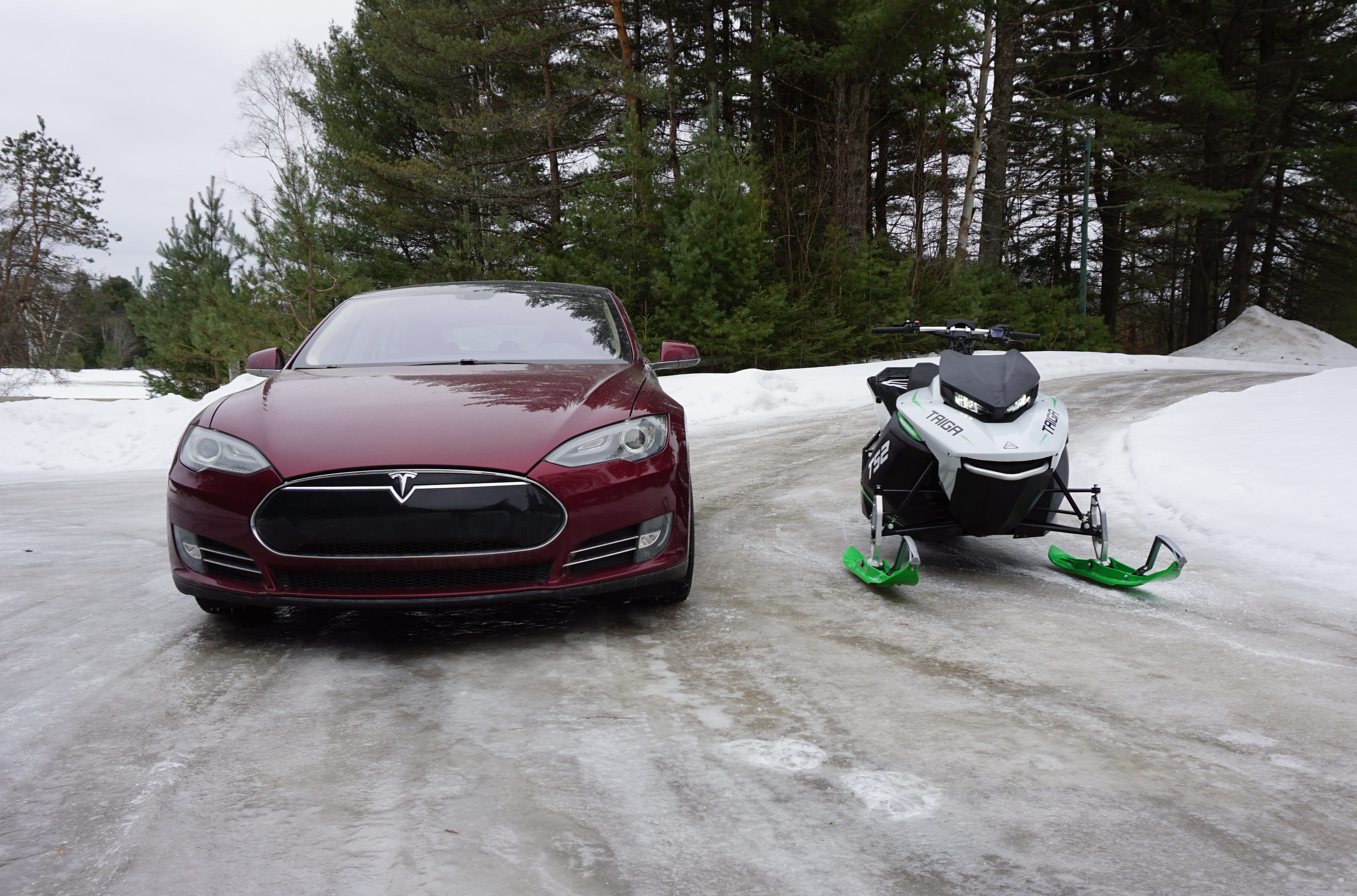 Tesla-inspired Taiga electric snowmobile does 0-60 mph in 3 seconds