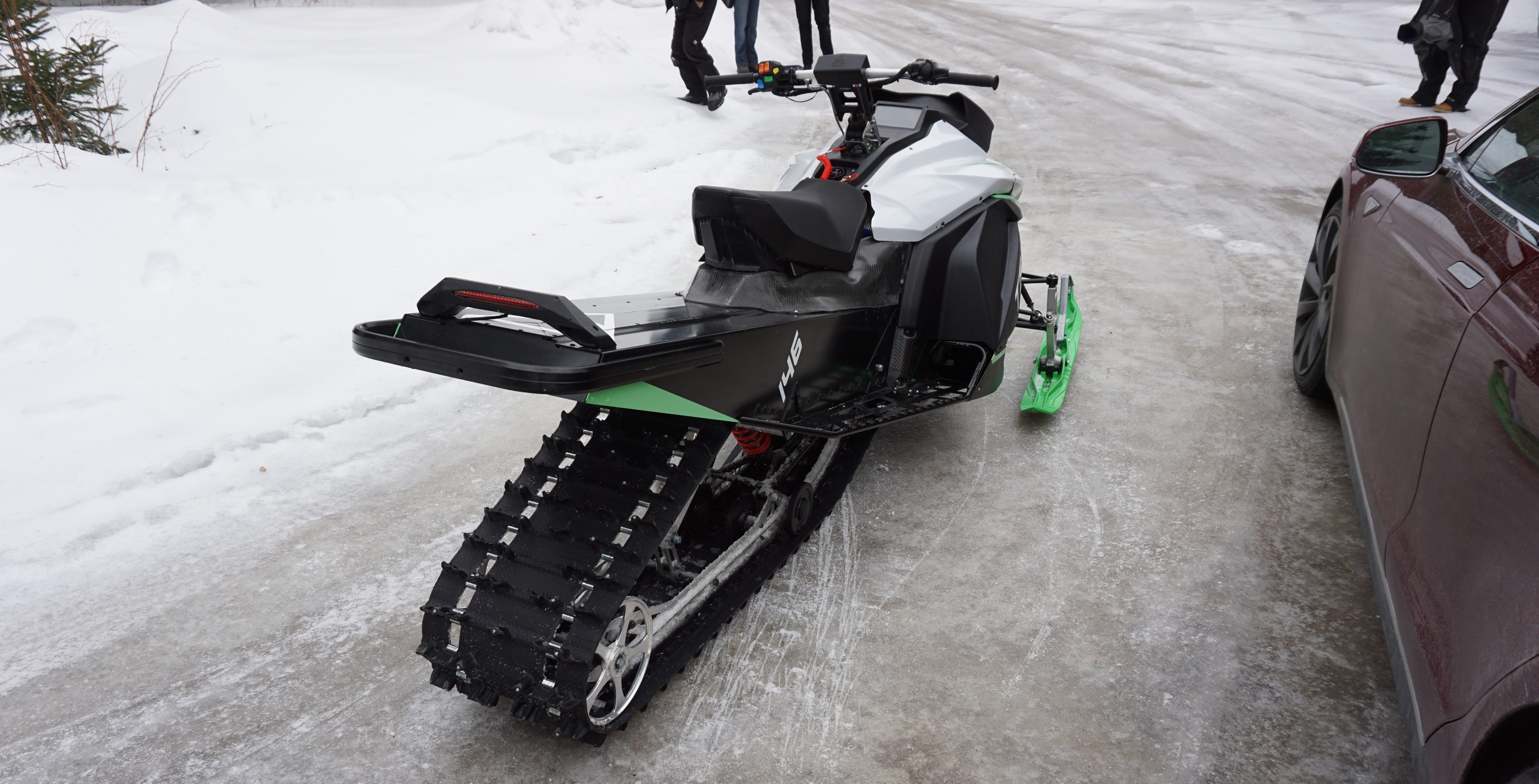 Tesla-inspired Taiga electric snowmobile does 0-60 mph in 3