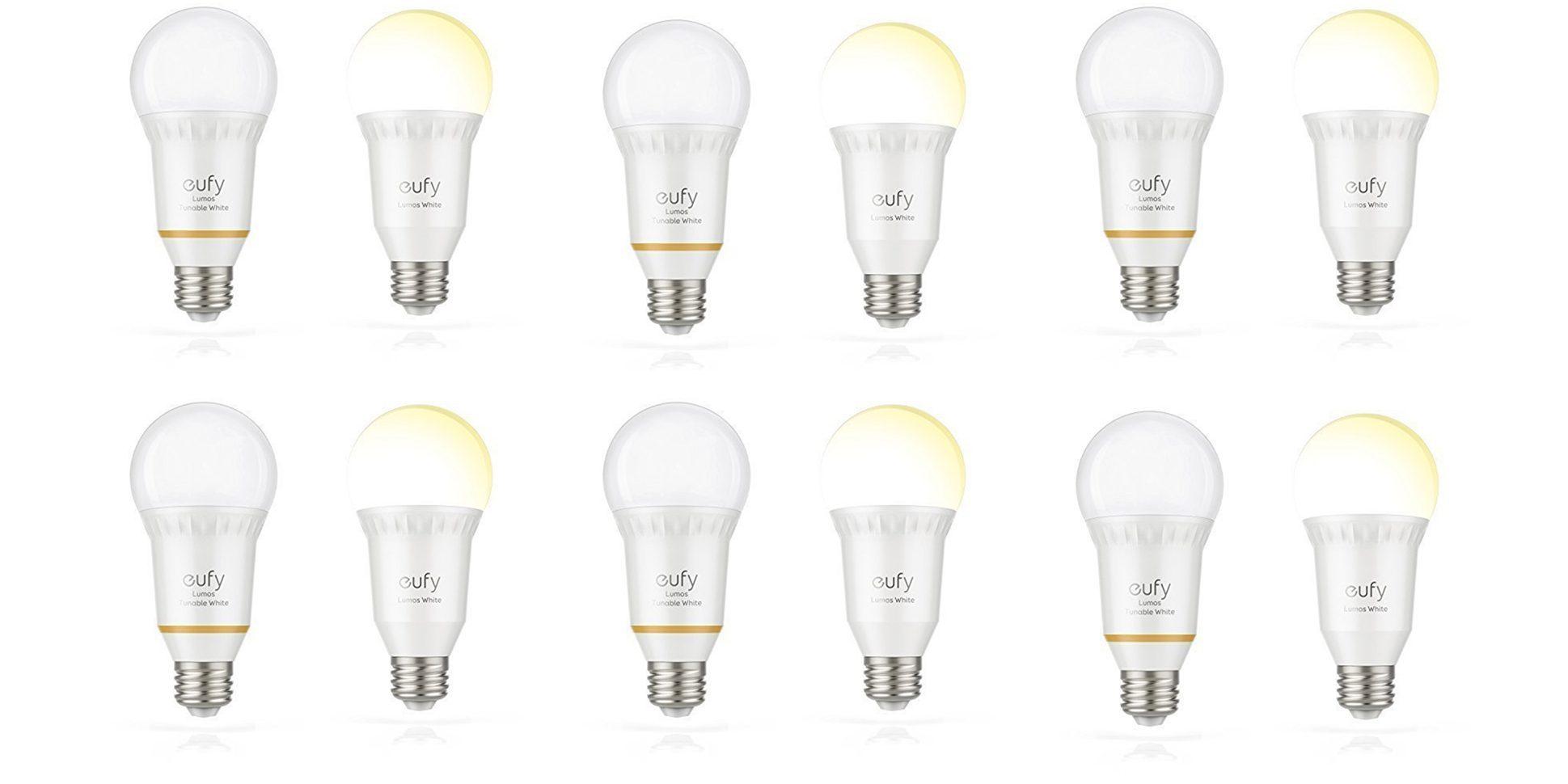 Green Deals Anker Eufy 60w A19 Smart Led Light Bulb 13 50 Reg 20 More Electrek
