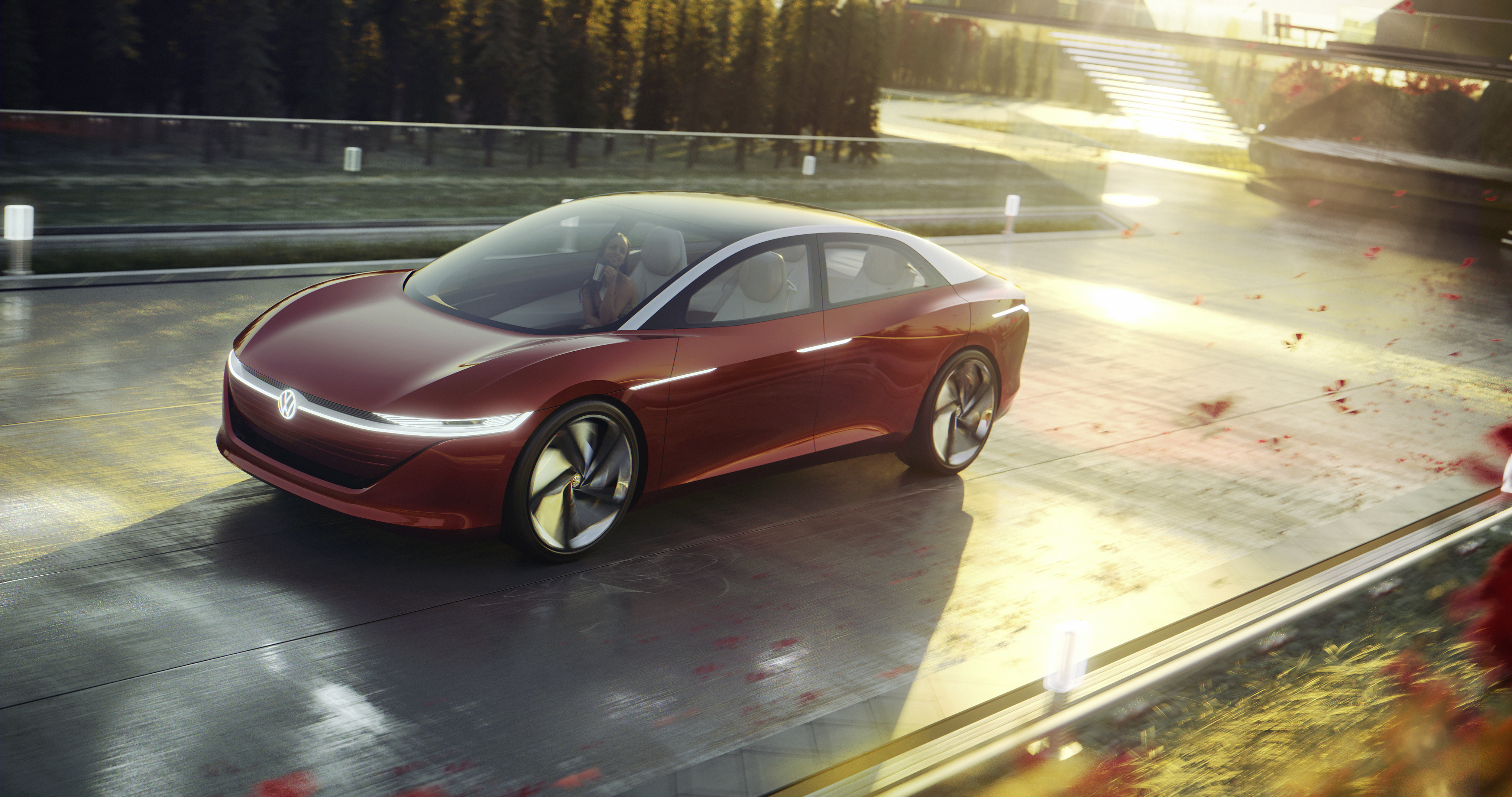 VW unveils new ID electric sedan: 111 kWh battery pack, self-driving on