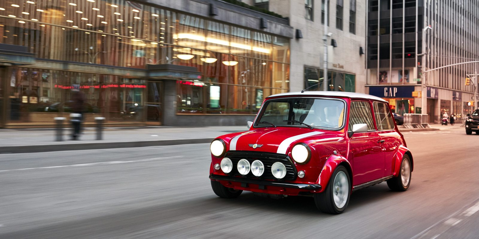 BMW Unveils An Allelectric Version Of The Classic Mini Its Third - Classic mini car