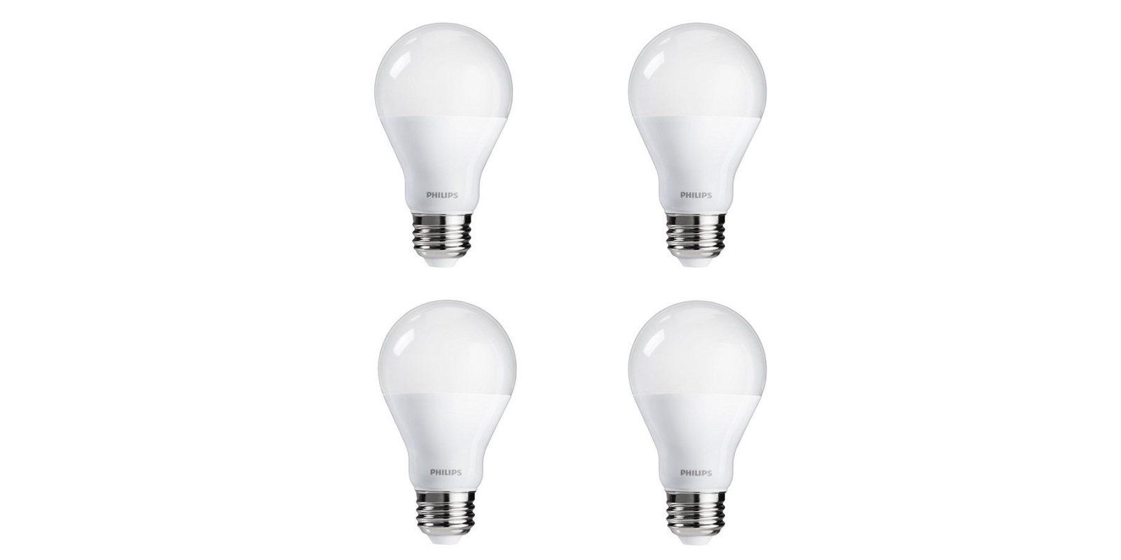 Green Deals: 4-pack Philips 100W A19 Daylight LED Light Bulbs $16 ...