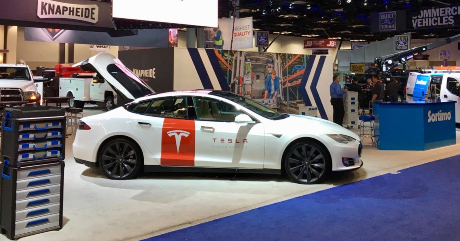 Closer Look At Tesla S New Custom Model Mobile Service Vehicle